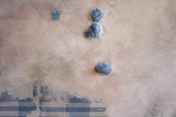 Küchenhandtuch blau